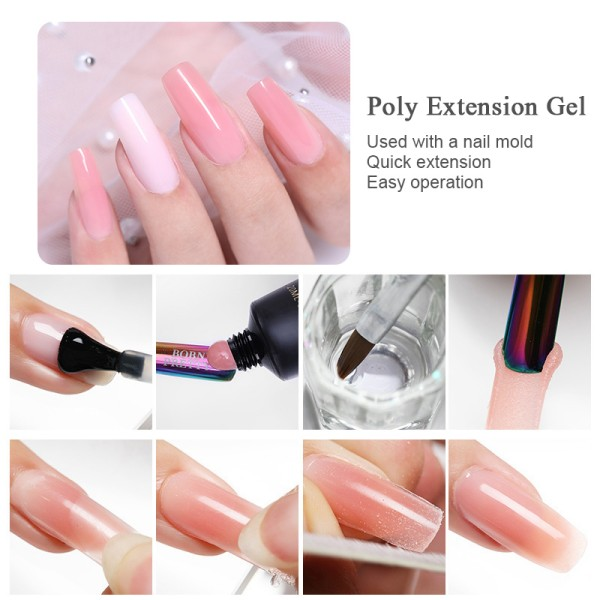 BP-07 Poly Extension gel (Clear) - BORN PRETTY