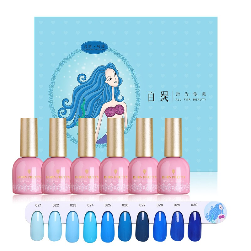 Long Live - Precious - BORN PRETTY Gel Polish Set