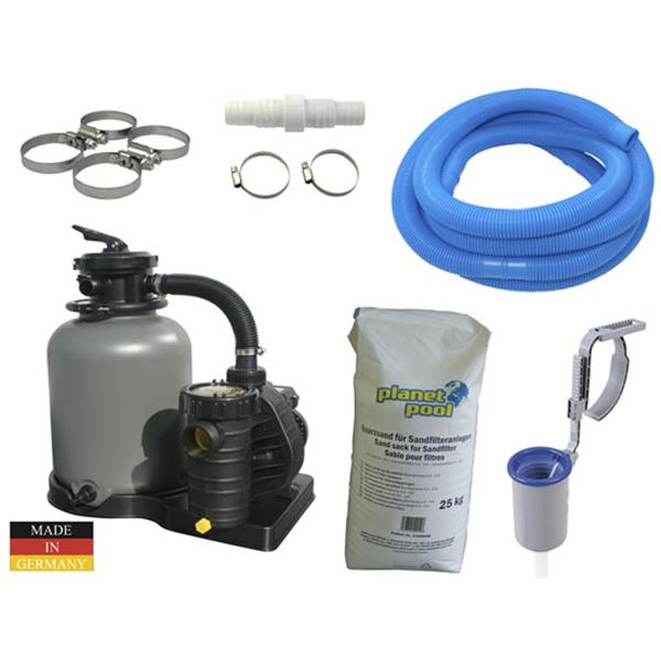 Filter paket Aqua Technik 400, 8 m3/50kg